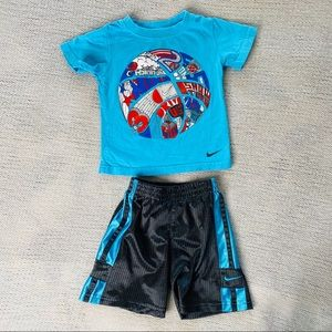 Nike Baby Boys Short & Tee Outfit 18 Months